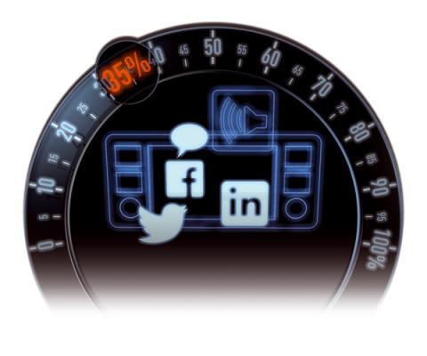 redes sociales coche