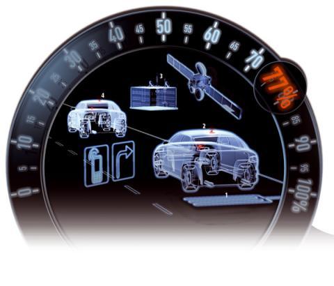 prevencion atascos inteligente coche