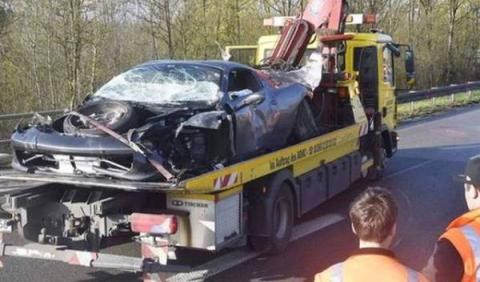 Accidente Ferrari 458 Spider