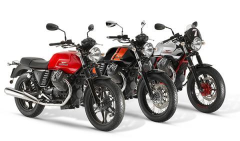 El espíritu de los setenta, en la nueva gama Moto Guzzi V7