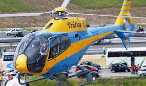 Helicoptero DGT Colibri