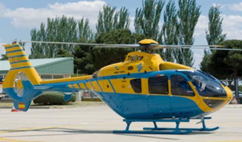 helicóptero dgt pegasus EC-135