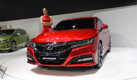 Honda Spirior Concept, en el Salón de Pekín 2014
