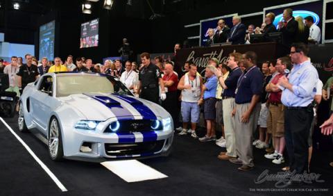 El Mustang de 'Need For Speed' se subasta por 217.000 euros