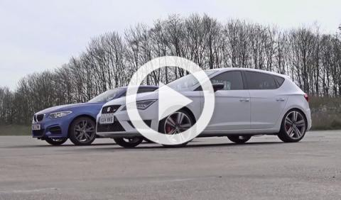 BMW M235i Coupé contra Seat León Cupra 2014