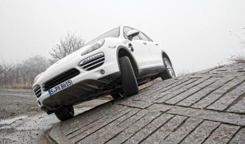 recoger Porsche Cayenne fábrica