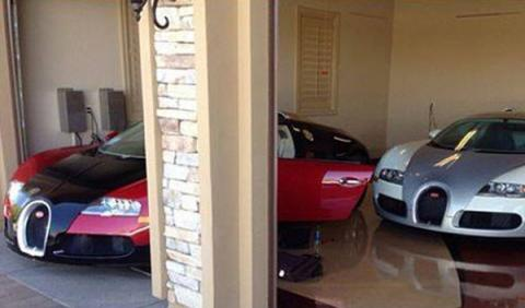 Floyd Mayweather añade un segundo Veyron a su colección