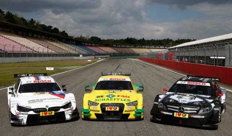 Audi-BMW-Mercedes-DTM 2014