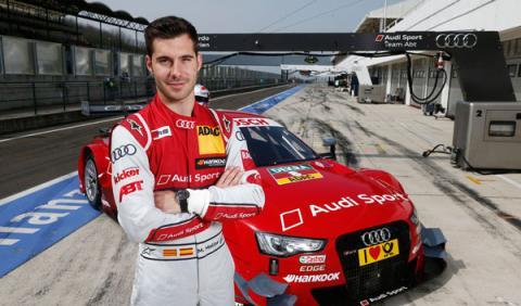 Miguel Molina Audi DTM 2014