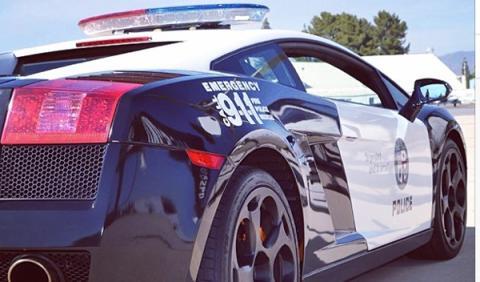 Un Lamborghini de regalo para la Policía de Los Ángeles