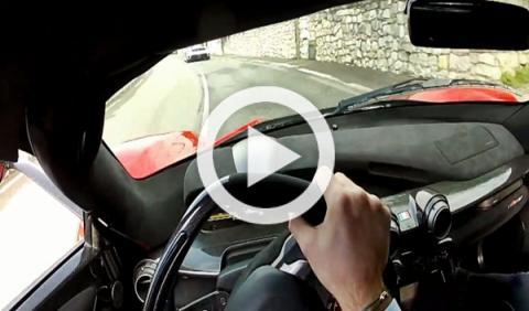 Primer vídeo 'onboard' del Ferrari LaFerrari