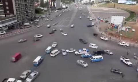 Vídeo: el cruce más peligroso del mundo