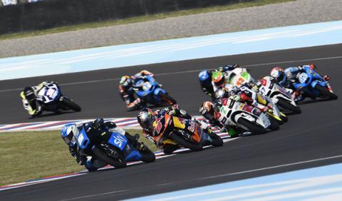 Carrera Moto3 GP Jerez 2014