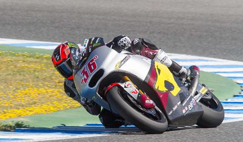 carrera Moto2 GP Jerez 2014