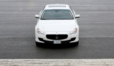 Maserati Quattroporte Diesel frontal