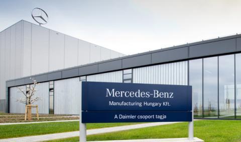 Aviso de bomba Mercedes en Kecskemet