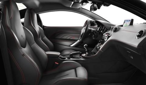 Habitáculo Peugeot RCZ Red Carbon
