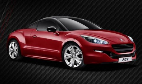Peugeot RCZ Red Carbon, edición limitada de 300 unidades