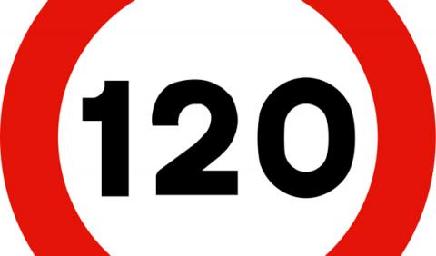 Si suben a 130 km/h, podrás recurrir las multas de 120 km/h