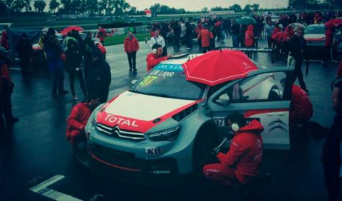 WTCC 2014, Eslovaquia: Loeb gana la única carrera disputada