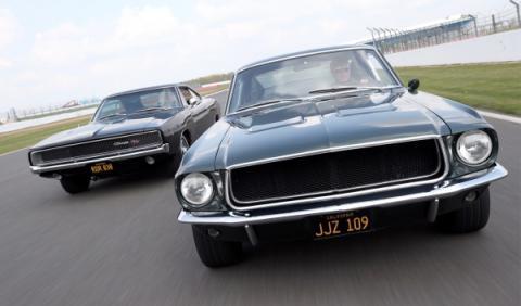 Recrear la persecución de Bullit como homenaje a Mustang