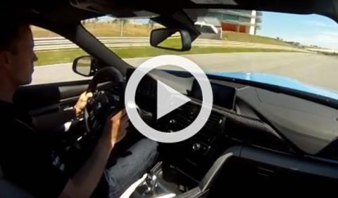 Una vuelta 'on board' en el BMW M3 y BMW M4