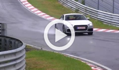 Vídeo: Audi TTS 2014, en Nürburgring