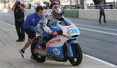 libres Moto2 GP Francia 2014 Salom
