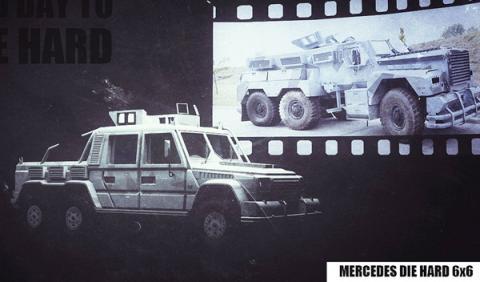 Drive Hard 6x6: el todoterreno más radical