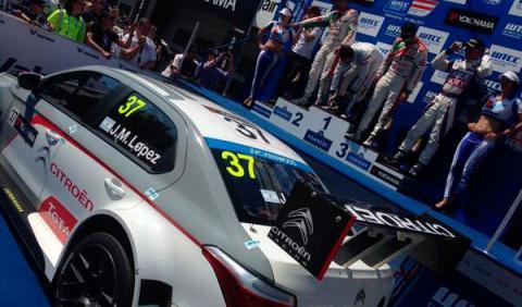 WTCC 2014, Lopez Austria Citroen