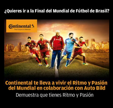 Concurso Continental Final Mundial Brasil Auto Bild
