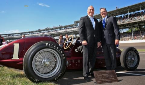 Maserati 8CTF Boyle Special: celebración en las 500 millas