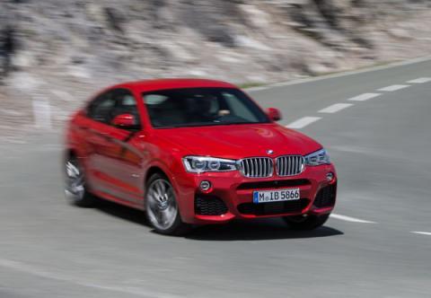 BMW-X4-curva