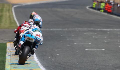 Parrilla de salida Moto2 GP Italia 2014