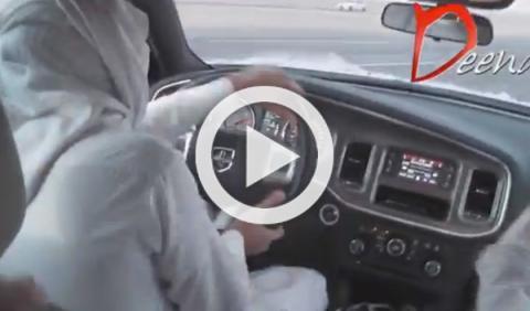 Driftando a 220 km/h en una autopista pública saudí