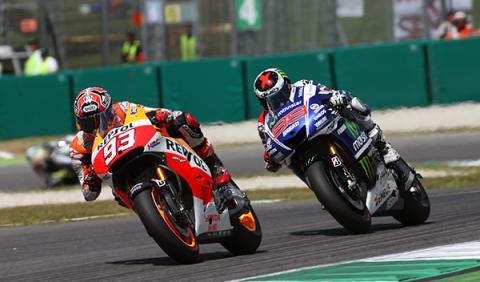 MotoGP Italia victoria Márquez