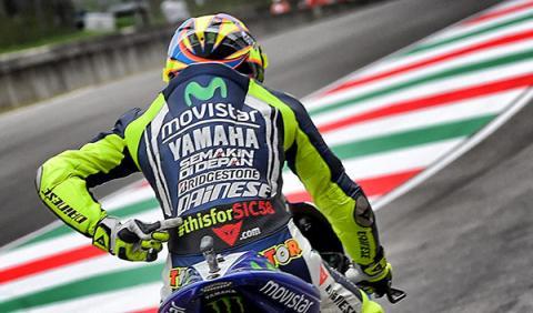 GP italia 2014 Rossi mono Simoncelli