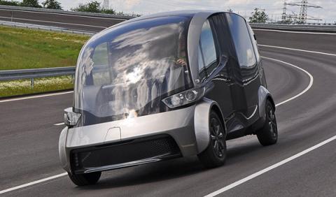 Así es la furgoneta del futuro