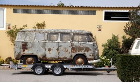 VW T1 oxidada