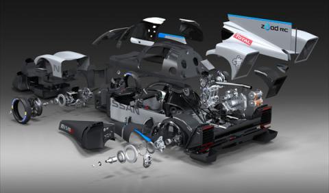 despiece Nissan Zeod RC Le Mans 2014