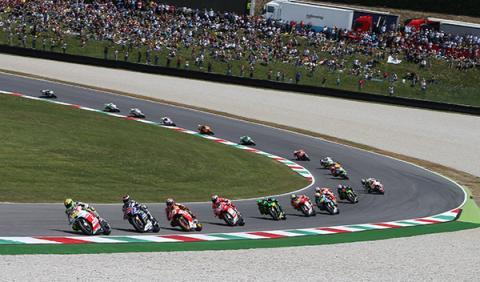 Presentación Moto GP Cataluña 2014, segunda carrera en casa