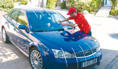 Revisar coche segunda mano pintura