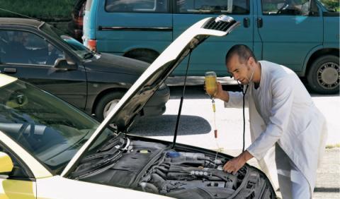 Revisar coche segunda mano motor