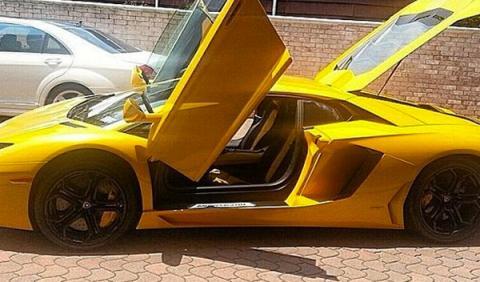 50 Cent pone a la venta su Lamborghini Aventador
