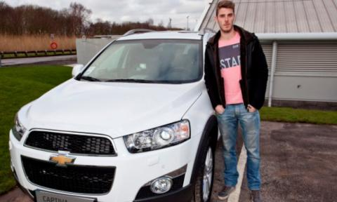 chevrolet captiva david de gea