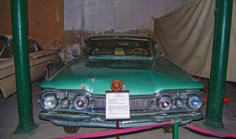 oldsmobile nighty eight museo automóvil cuba