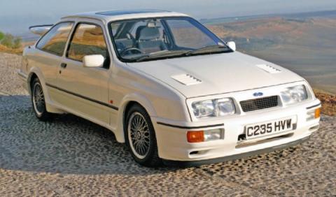 Vídeo: Ford Escort Cosworth y Ford Sierra Cosworth