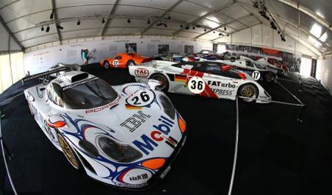 Exposicion Porsche Le Mans