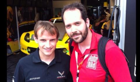 Antonio García Corvette Le Mans