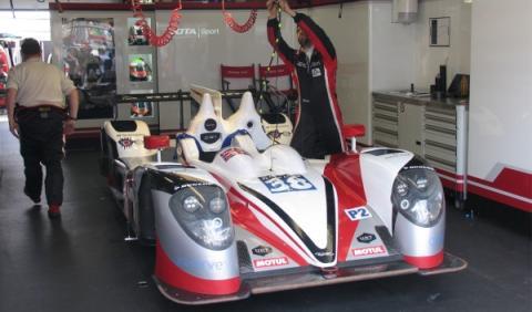 Coche de Jota Sport LMP2 en las 24 Horas de Le Mans 2014